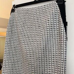 Ivanka Trump Tweed Straight Pencil Skirt Size 6